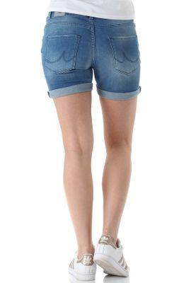 LTB Shorts Damen BECKY X Mittelblau Catalina Wash – Bild 2