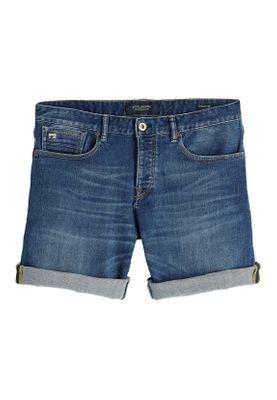 Scotch & Soda Shorts Men RALSTON 148665 Mittelblau 2729 Lucky Blauw Dark – Bild 0