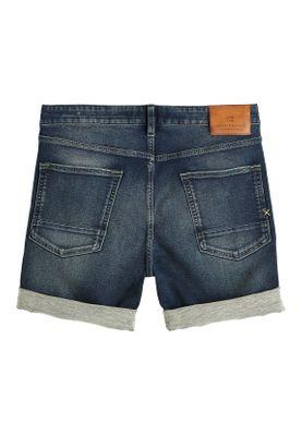 Scotch & Soda Shorts Men RALSTON 148663 Dunkelblau 2651 Blauw Touch – Bild 1