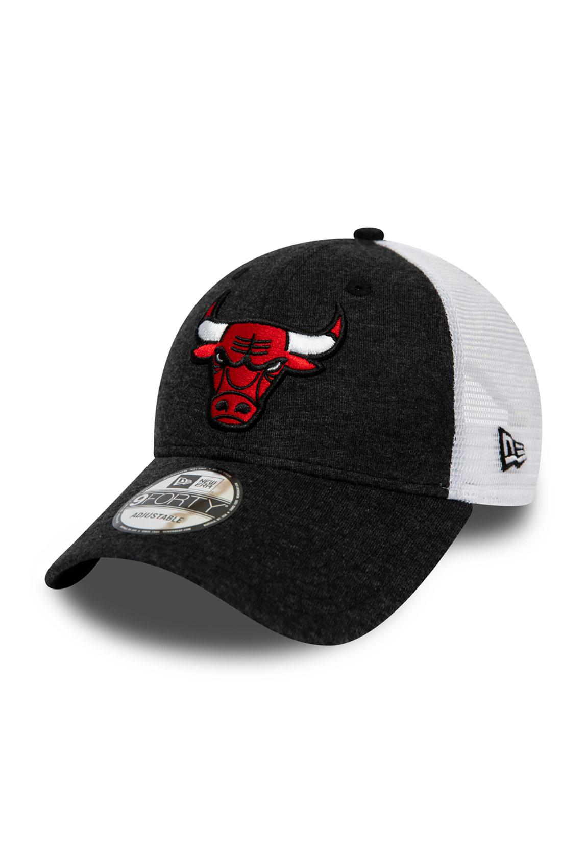 NBA Chicago Bulls schwarz New Era Basic Shirt