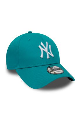 New Era League Essential 9Forty Adjustable Cap NY YANKEES Türkis – Bild 2