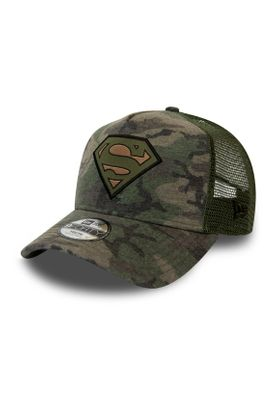 New Era Kids Camo 9 Forty Kinder Trucker Cap SUPERMAN Camouflage – Bild 0