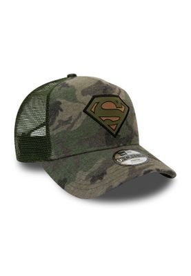 New Era Kids Camo 9 Forty Kinder Trucker Cap SUPERMAN Camouflage – Bild 2