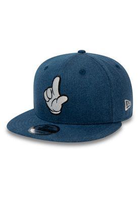 New Era Street Mickey 9Fifty Snapback Cap STREET MICKEY DENIM Blau – Bild 0