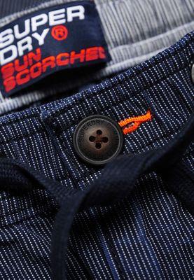 Superdry Shorts Herren SUNSCORCHED SHORT Brunswick Stripe – Bild 1