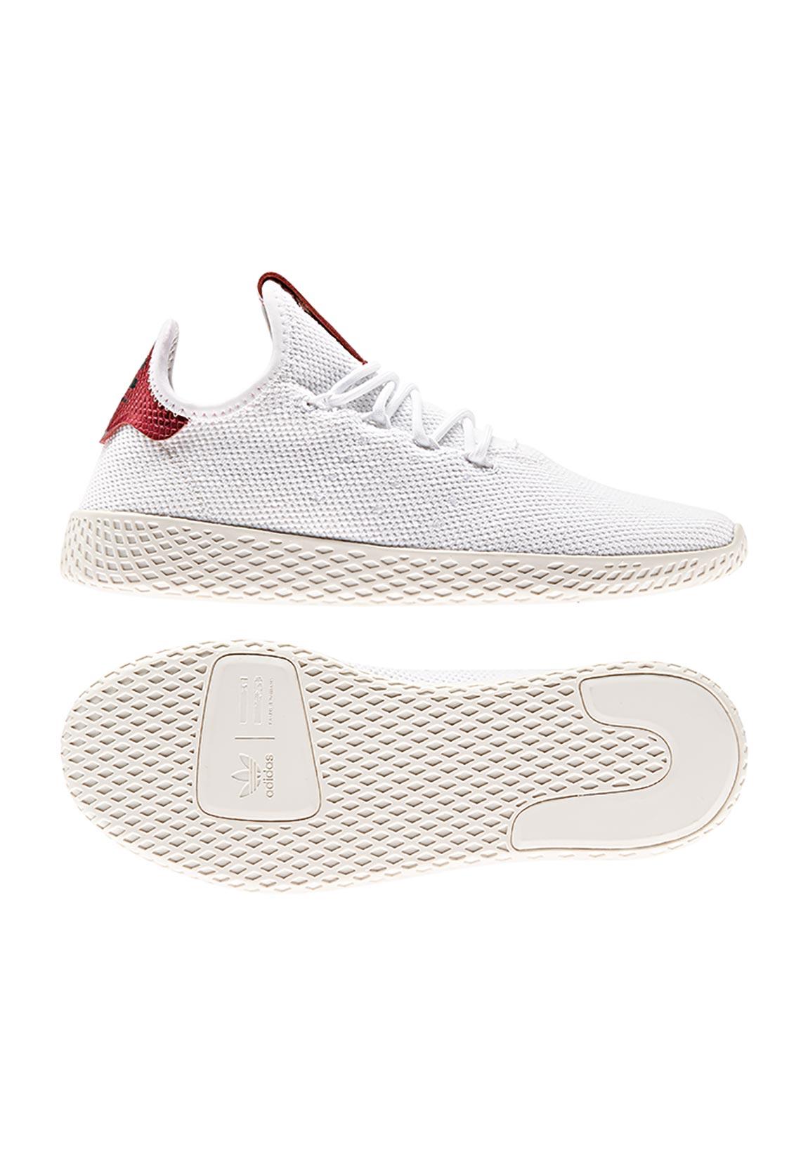 Adidas Original Sneaker PW TENNIS HU W D96443 Weiß Rot