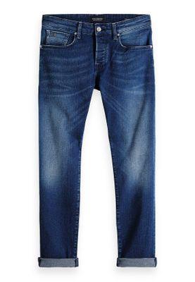 Scotch & Soda Jeans Men RALSTON 151097 Blau Worn Waves 2974 – Bild 0