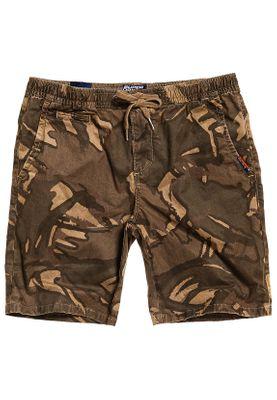 Superdry Shorts Herren SUNSCORCHED SHORT Sand Outline Camo – Bild 0