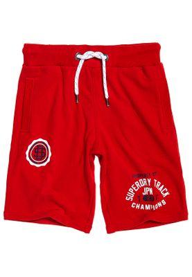 Superdry Shorts Herren TRACK & FIELD LITE SHORT Academy Red  – Bild 0