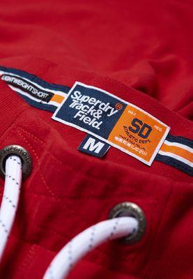 Superdry Shorts Herren TRACK & FIELD LITE SHORT Academy Red  – Bild 1