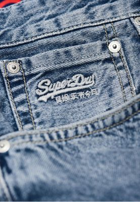 Superdry Shorts Herren CONOR TAPER SHORT Samson Blue  – Bild 3