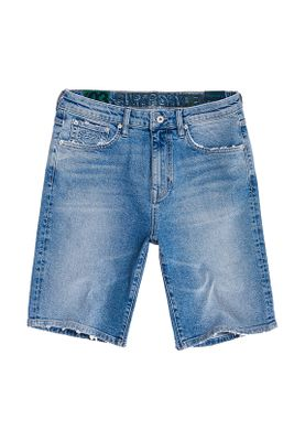Superdry Jeans Shorts Herren TYLER SLIM SHORT Kirk Authentic Blue – Bild 0