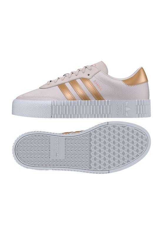 Adidas Originals Sneaker SAMBAROSE W EE6743 Rosa Gold – Bild 0