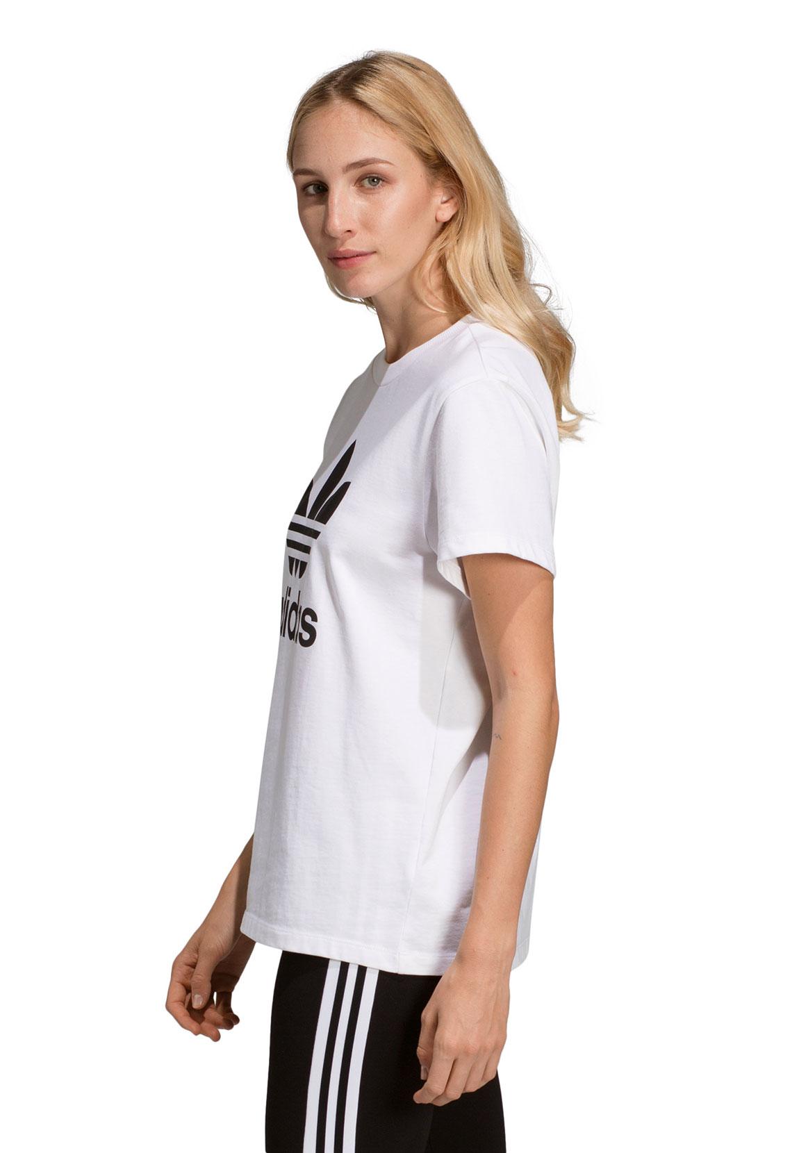 Adidas Originals T Shirt Damen BOYFRIEND TEE DX2322 Weiß