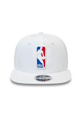 New Era Featherweight 9Fifty Snapback Cap NBA LOGO Weiß – Bild 1