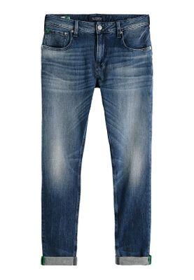 Scotch & Soda Herren Jeans SKIM 151096 Blau 2976 Washed Up – Bild 0