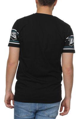 New Era NFL Badge Herren T-Shirt PHILADELPHIA EAGLES Schwarz – Bild 2