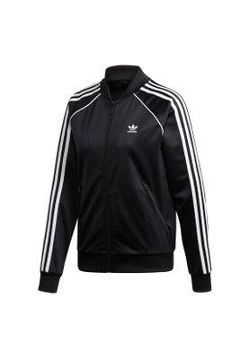 Adidas Originals Sweatjacke Damen SS TT ED7473 Schwarz – Bild 0