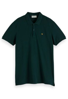 Scotch & Soda Polo Men CLASSIC GARMENT DYED PIQUE POLO 124893 Dunkelgrün 72 Green