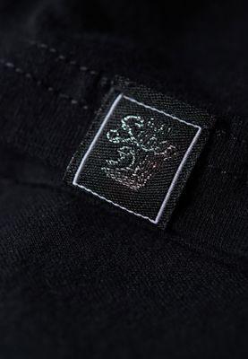 Superdry T-Shirt Damen V LOGO TEXTURED FOIL BOX ENTRY Black – Bild 3