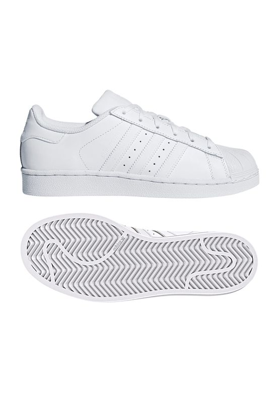 Adidas Originals Sneaker SUPERSTAR J B23641 Weiss – Bild 0
