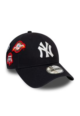 New Era Cooperstown Patched 9Forty Adjustable Cap NY YANKEES Dunkelblau – Bild 0