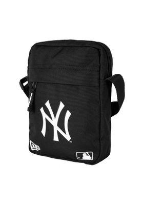 New Era MLB Side Bag Umhängetasche NY YANKEES Schwarz Weiß – Bild 0