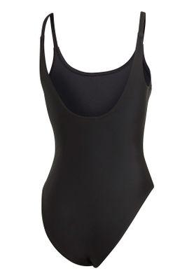 Adidas Originals Badeanzug Damen TREFOIL SWIM ED7537 Schwarz – Bild 1