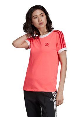 Adidas Originals T-Shirt Damen 3 STR TEE ED7474 Pink – Bild 2