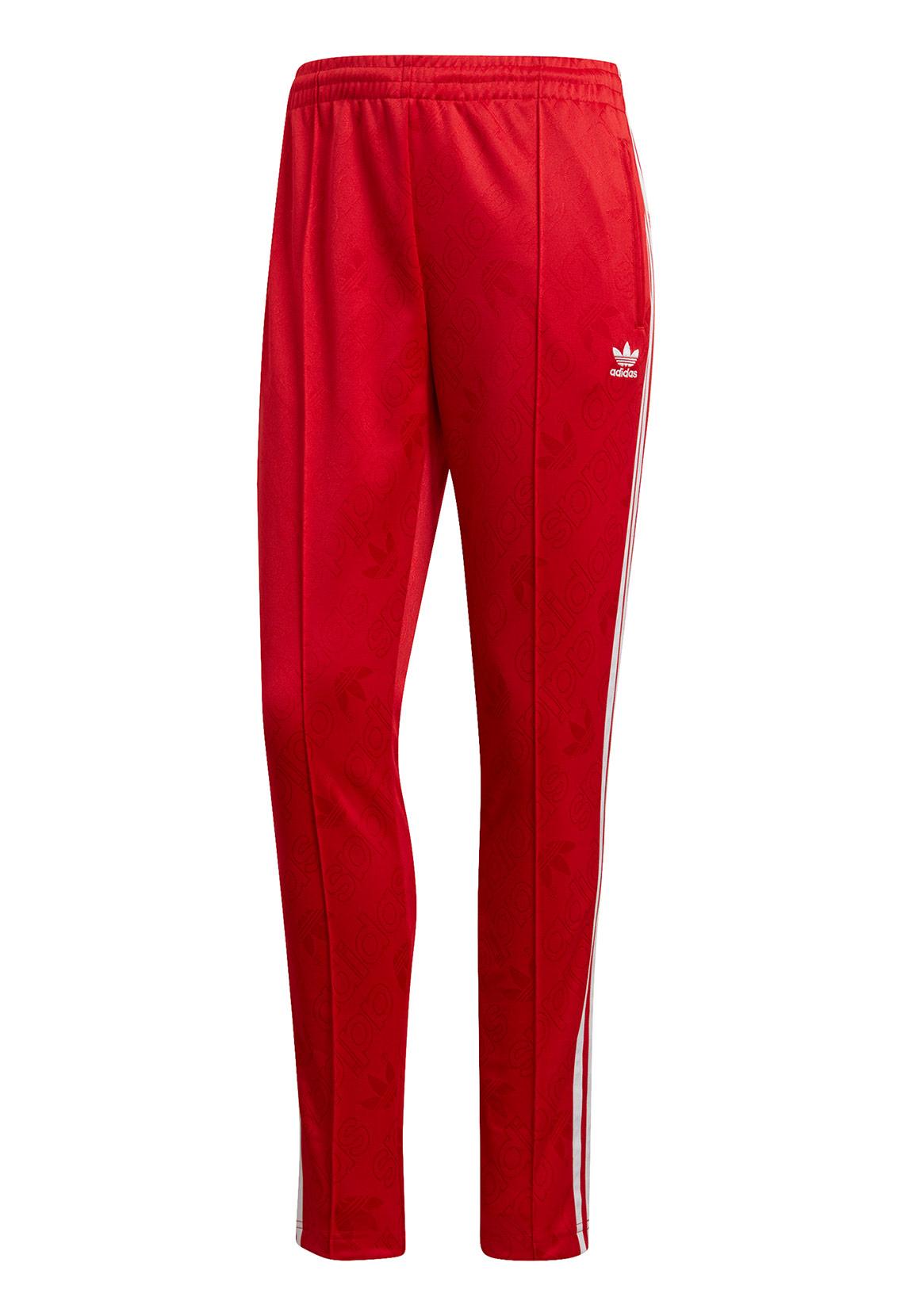 uk billig verkaufen 100% original klassische Schuhe Adidas Originals Jogginghose Damen SS TP ED7462 Rot