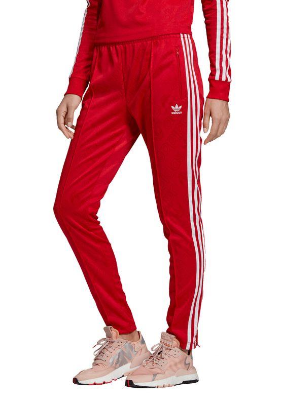 Adidas Originals Jogginghose Damen SS TP ED7462 Rot – Bild 3
