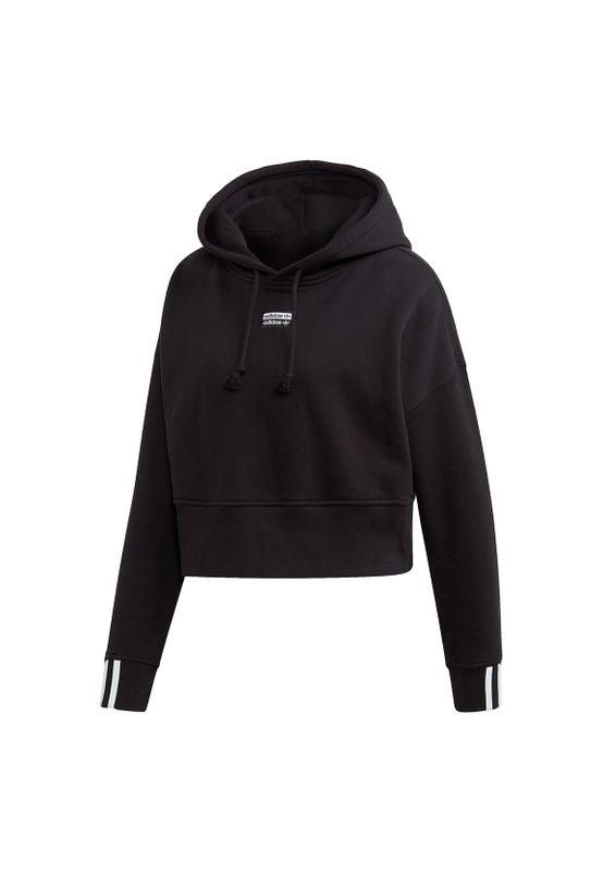 Adidas Originals Hoody Damen VOCAL CROP HOOD EJ8537 Schwarz – Bild 0