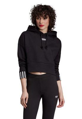 Adidas Originals Hoody Damen VOCAL CROP HOOD EJ8537 Schwarz – Bild 2
