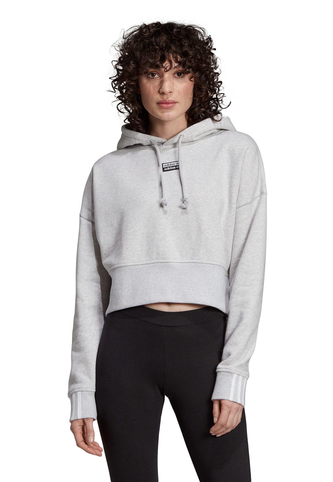 Details about Adidas Originals Hoody Ladies Vocal Crop Hood EJ8537 Black