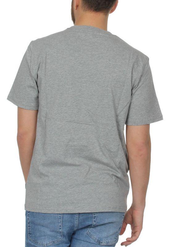 Converse T-Shirt Herren STAR CHEVRON TEE 10007888 058  Grau – Bild 1