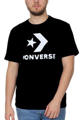 Converse T-Shirt Herren STAR CHEVRON TEE 10007888 001  Schwarz – Bild 0