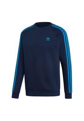 Adidas Originals Crewneck Herren 3-STRIPES CREW EK0260 Blau – Bild 0