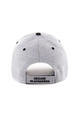 47 Brand Storm Cloud MVP Cap CHICAGO BLACKHAWKS H-STMCD04WHV-CC Grau – Bild 1