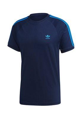 Adidas Originals T-Shirt Herren BLC 3-S TEE ED5957 Dunkelblau – Bild 0