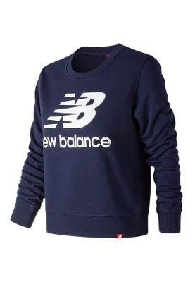 New Balance Crewneck  Damen ESSENTIALS CREW WT91585 PGM Dunkelblau – Bild 0