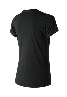 New Balance T-Shirt Damen ESSE ST LOGO TEE WT91546 BK Black – Bild 1