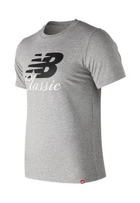 New Balance T-Shirt Herren ESSE BRIDGE T MT91588 Ag Grau – Bild 0