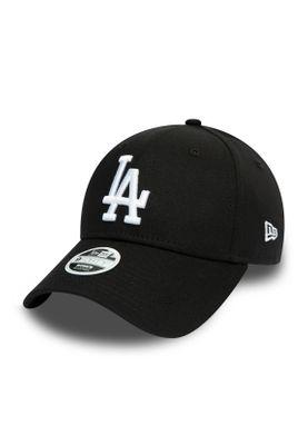 New Era League Essential 9Forty Adjustable Cap LA DODGERS Schwarz – Bild 0