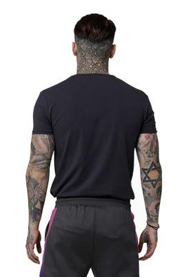 SikSilk T-Shirt Herren S/S GYM TEE SS-14921 Grey – Bild 3