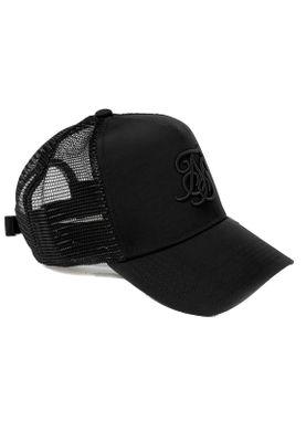 SikSilk Trucker Cap BENT PEAK TRUCKER SS-15276 Black Black – Bild 0