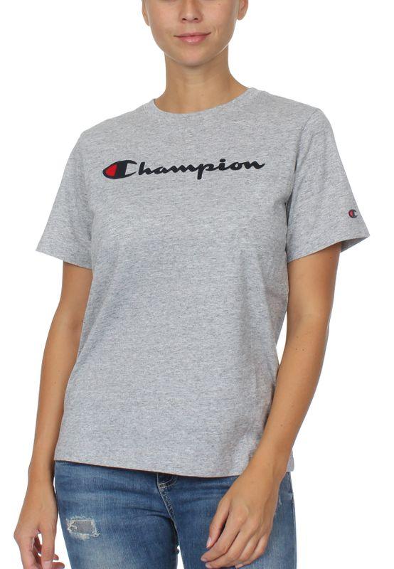 Champion T-Shirt Damen 111971 F19 EM021 NOMX Grau – Bild 0