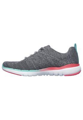 Skechers Sneaker Damen FLEX APPEAL 3.0 REINFALL 13058 GYMT Gray/MT – Bild 1
