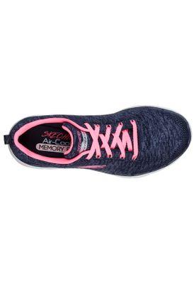 Skechers Sneaker Damen FLEX APPEAL 3.0 13062 NVHP Navy/Hot Pink – Bild 3