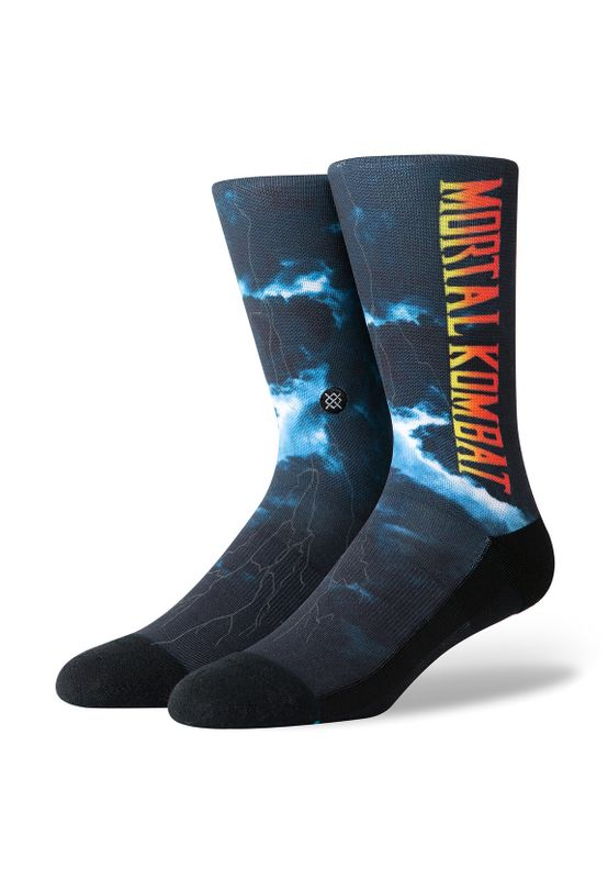 Stance Herrensocken EVERYDAY MORTA KOMBAT II Black Ansicht