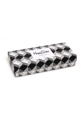Happy Socks Geschenkbox BLACK AND WHITE GIFT BOX XBLW09-9004 Mehrfarbig – Bild 1